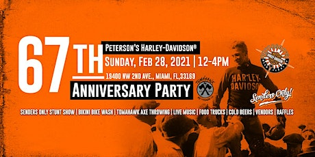67th Anniversary Party and Senders Only Stunt Show tickets