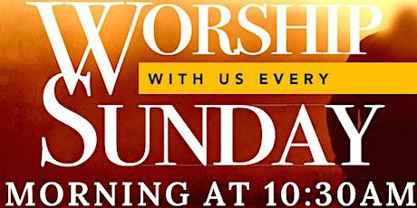 Sunday Morning 10:30am service tickets