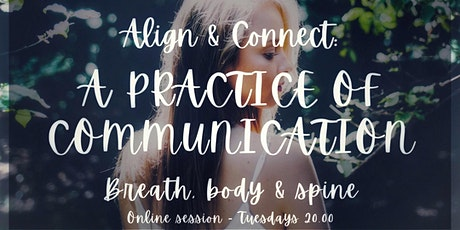 Align & Connect: Breath, Body & Spine tickets