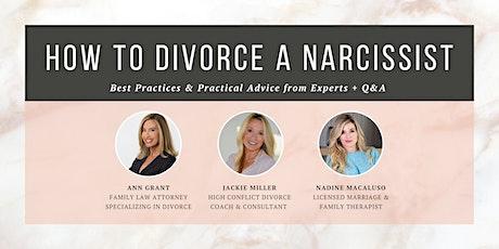 How to Divorce a Narcissist –It's TIME. biglietti