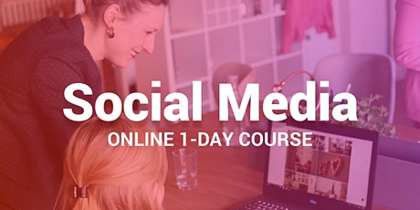 Social Media Marketing - Certified Online 1-Day Course tickets
