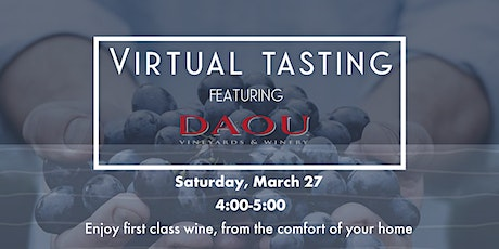 Virtual Tasting with DAOU Family Estate tickets