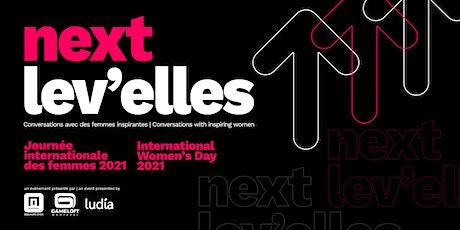 Next Lev'Elles: Conversations with inspiring women tickets