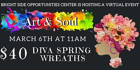 Copy of Diva Spring Wreath tickets