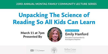 2021 Montag Family Community Lecture featuring Emily Hanford tickets