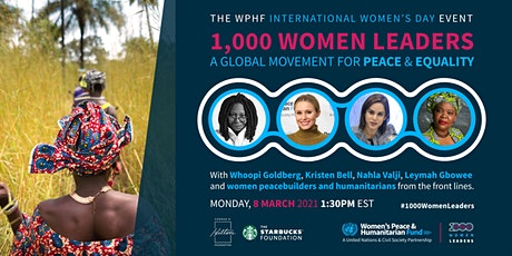 1000 Women Leaders: A Global Movement for Peace & Equality billets