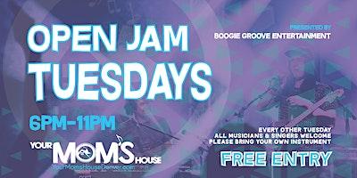 Open Jam Tuesdays 3/9