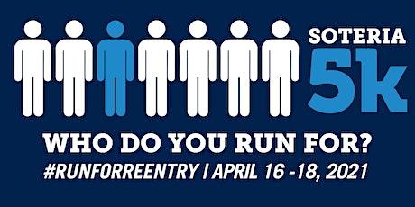 Run for Reentry 5K 2021 tickets