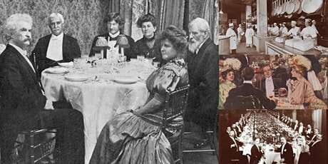 'Food and Dining in New York's Gilded Age' Webinar tickets