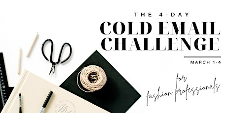 The 4-Day Cold Email Challenge for Fashion Professionals tickets