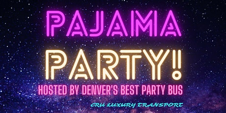 SUNDAY FUNDAY Party Bus In Your PAJAMAS! tickets