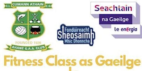 Rang aclaíochta le Beo Fitness / Family fitness class with Ahane GAA tickets