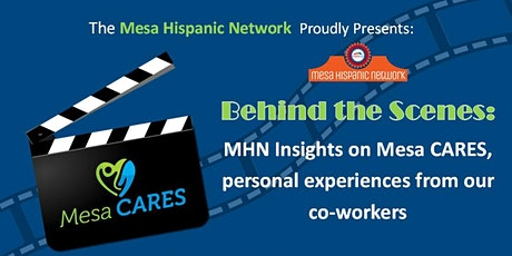 MHN Lunch & Learn- Behind the Scenes: MHN Insights on Mesa CARES tickets