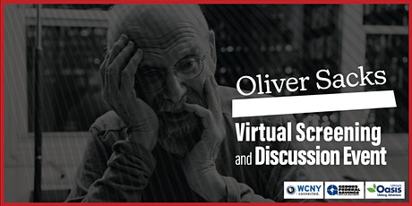 Oliver Sacks LIVE Virtual Screening and Discussion Event tickets