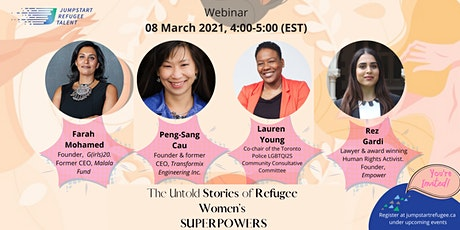 The Untold Stories of Refugee Women's SUPERPOWERS tickets