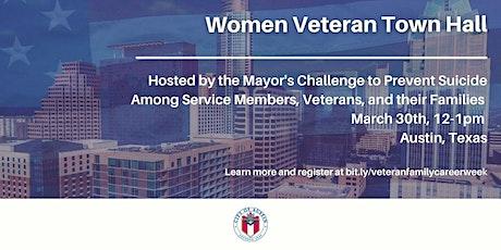Women Veteran Town Hall tickets