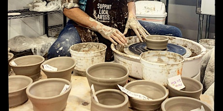 Sip and Throw Friday Night Pottery Party 7-8:30pm tickets