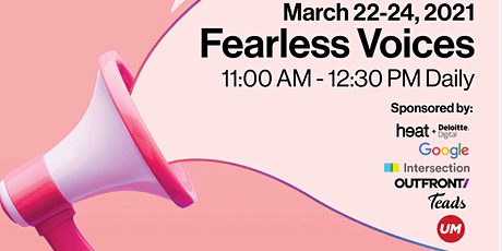 VIRTUAL EVENT: 2021 Fearless Voices tickets