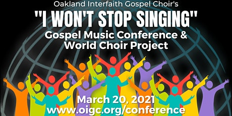 3/20: OIGC Virtual 2021 Gospel Music Conference tickets