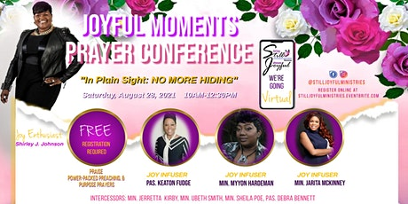 Joyful Moments Prayer Conference 2021 tickets
