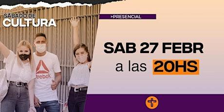 Cultura Reunión Presencial en Caudal de Vida-Sábado  27/2  20:00 hs entradas