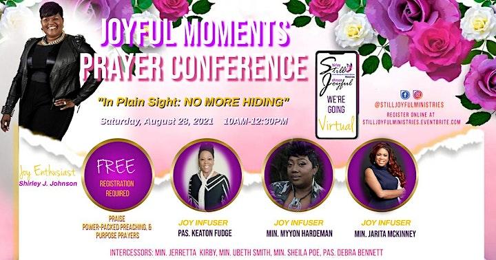 Joyful Moments Prayer Conference 2021 image