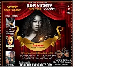 R&B NIGHTS Burlesque Concert tickets