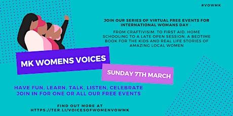 International Women's Day: Women's Wellbeing and Wonder tickets