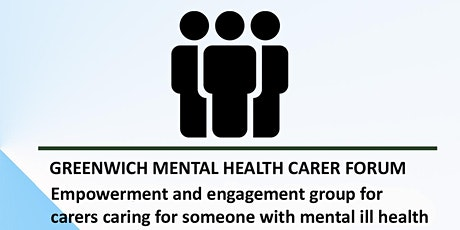 Greenwich Mental Health carers forum tickets