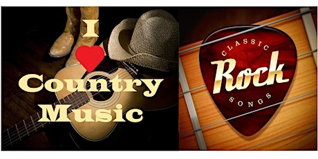 *COUNTRY MUSIC & Classic Rock* Music Party, Dancing & Friends. Free on Zoom tickets