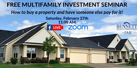 FREE HOMEBUYING WEBINAR: How to Buy & Have Someone Else Pay Your Mortgage! tickets