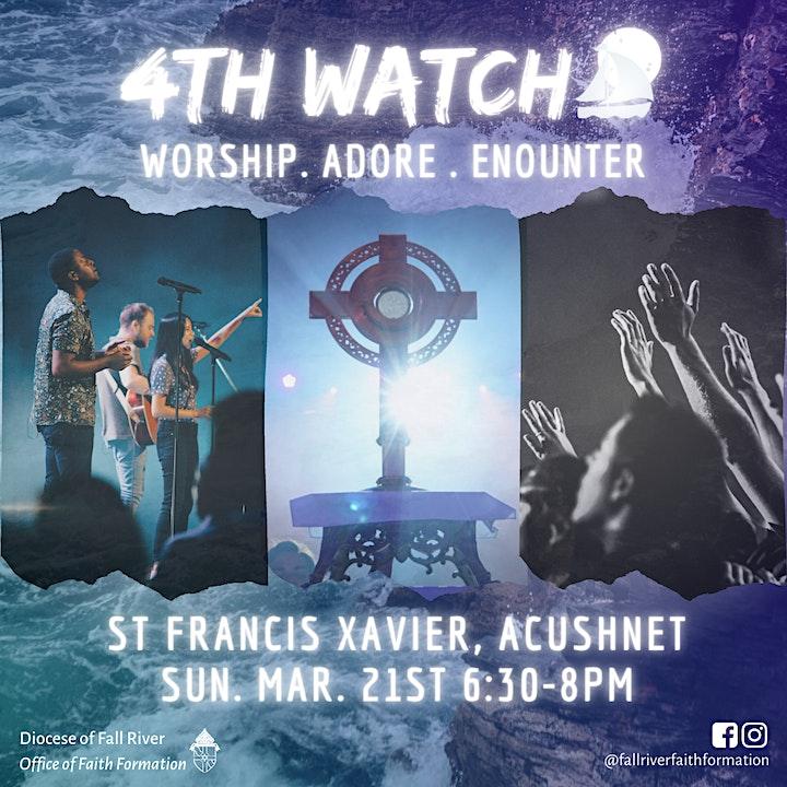 4th Watch - Praise & Worship Night image