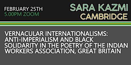 Copy of Cambridge Poco Graduate Seminar - Vernacular Internationalisms tickets