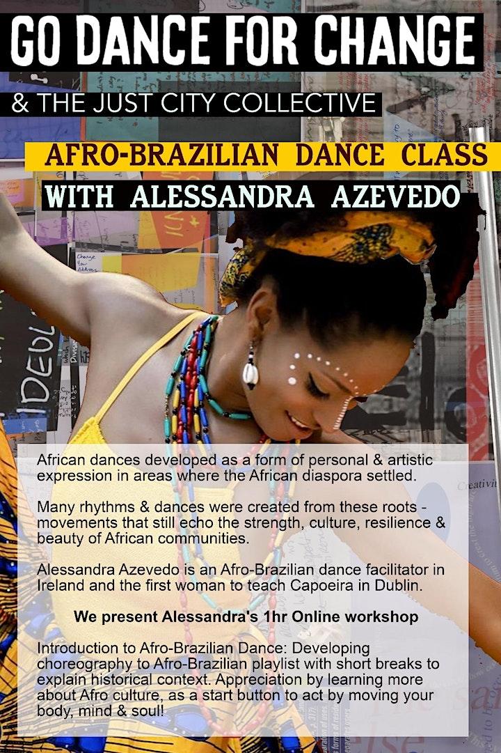 Presenting Afro-Brazilian dance movement image