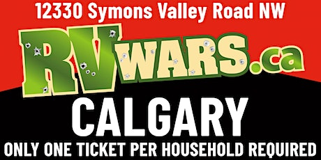 RV Wars Calgary tickets