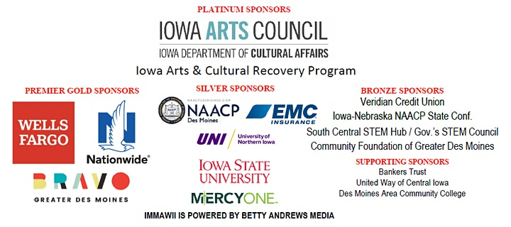 I'll Make Me a World in Iowa - Iowa's African American Festival '21 Virtual image