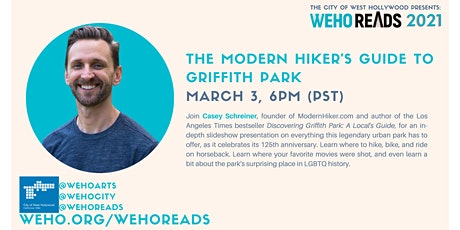 WeHo Reads Presents: Guide to Griffith Park with Casey Schreiner tickets
