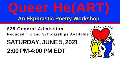 Queer He(ART): an Ekphrastic Poetry Workshop tickets