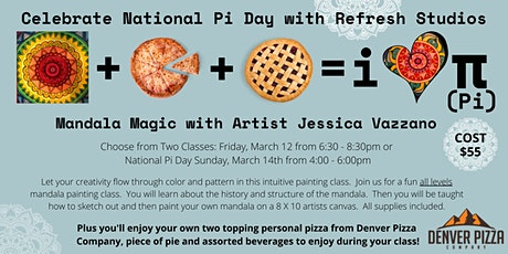 Mandala Magic - Celebrate Pi Day! tickets