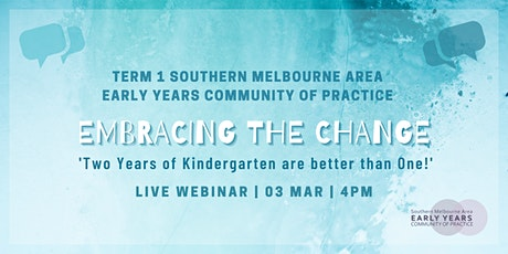 Term 1 Early Years Community of Practice Live Webinar tickets