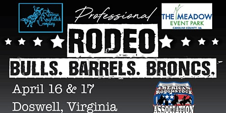 Doswell Pro Rodeo Bulls, Broncs And Barrels tickets