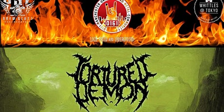 *NEW DATE* 0161 Presents: Tortured Demon Album Launch tickets