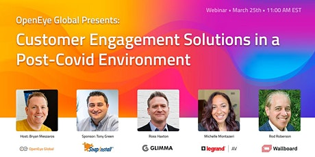 Customer Engagement Solutions in a Post-Covid Environment. tickets