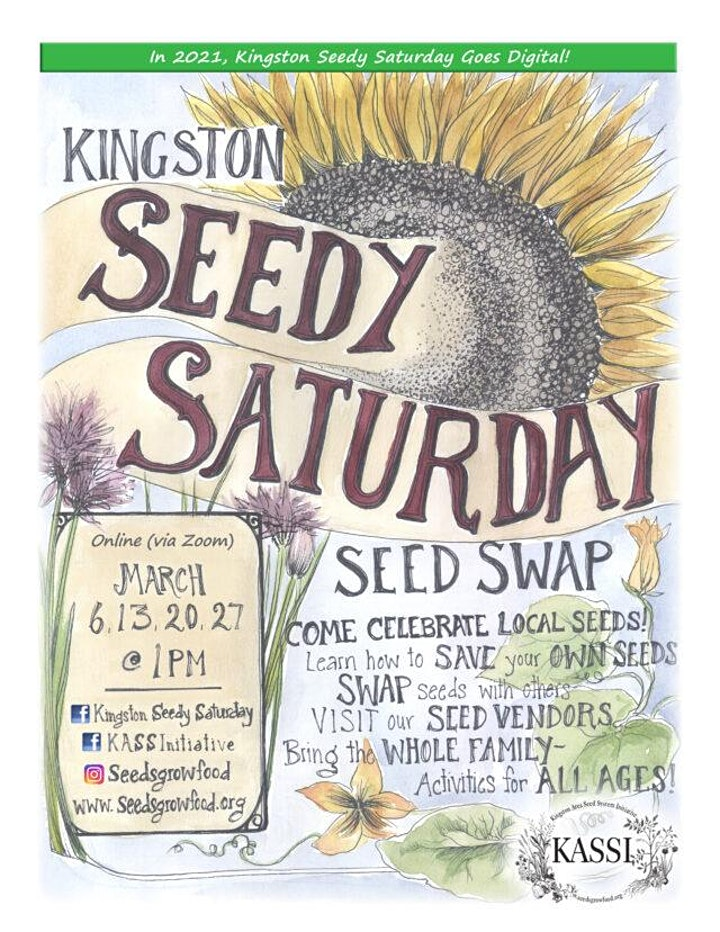 Seedy Saturdays  Kingston image