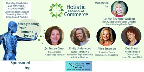 Community Education Panel: Strengthening Your Immune System tickets