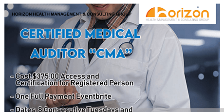 Certified Medical Auditor tickets