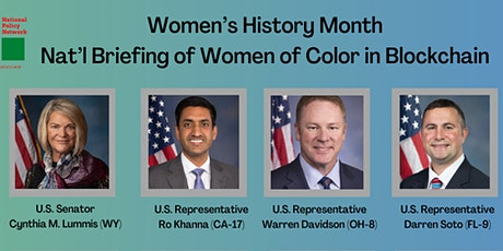 Commemorate Women's History Month. Support  Small Businesses in Blockchain. tickets