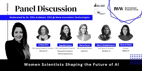 Women Scientists Shaping the Future of AI tickets