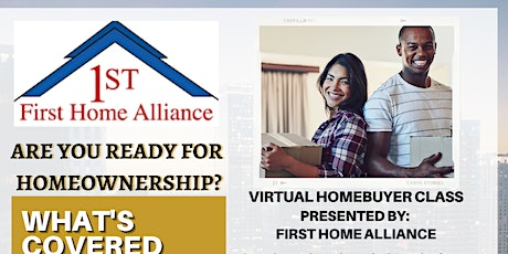 Home-Ownership HUD Course 4 Week Course (Sneak Peak March 6th) tickets
