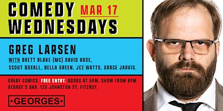 Comedy Wednesdays at George's - Greg Larsen tickets